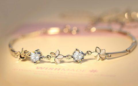 花朵奇缘璀璨水晶手链