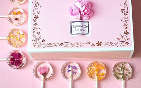 高颜值樱花棒棒糖礼盒