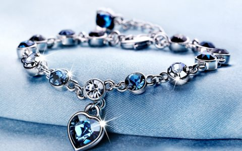 创意十二星座水晶手链