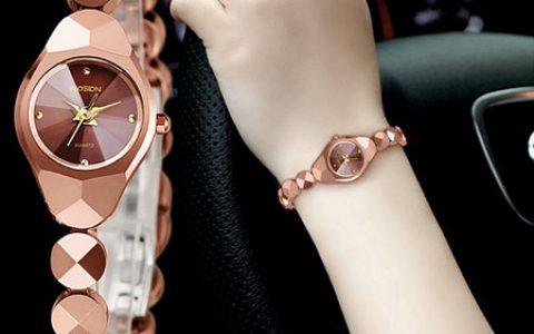 劳士顿镶钻女士手链手表