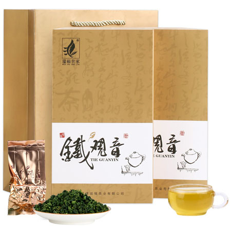 特级安溪铁观音茶叶浓香型 2019新茶乌龙茶秋茶散装礼盒装250g装