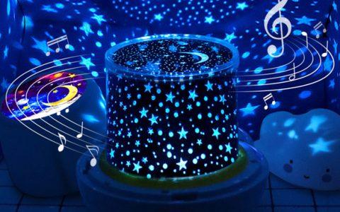创意音乐投影星空灯