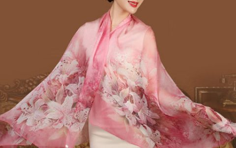 上海故事桑蚕丝丝巾 围巾
