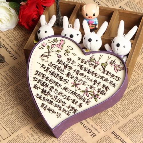 创意浪漫情书巧克力礼盒