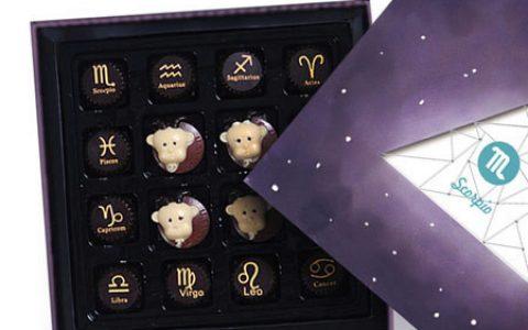 十二星座手工巧克力礼盒