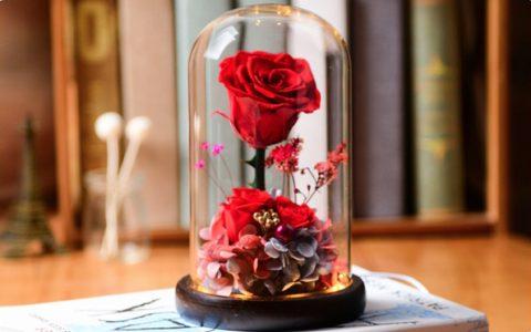 浪漫永生花玫瑰花礼盒