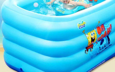婴儿充气式游泳池