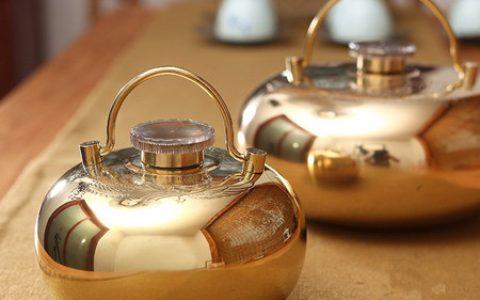 纯铜实用汤婆子暖水壶