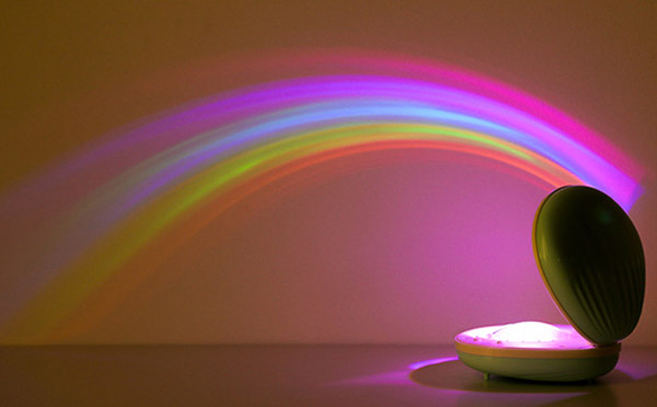 创意浪漫彩虹投影灯