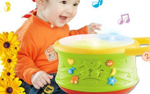 宝宝音乐拍拍鼓玩具