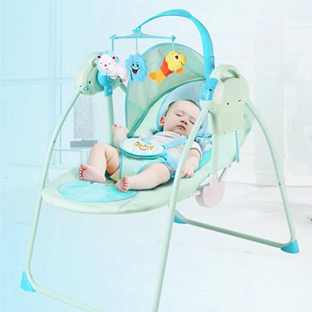 婴儿电动安抚椅 哄睡摇摇椅