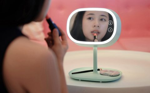 创意LED化妆镜台灯