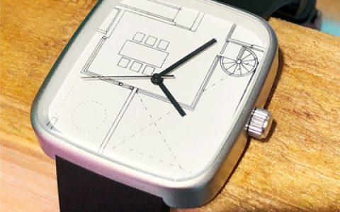 一款创意手表,让人眼前一亮!