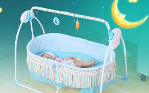 婴儿自动摇篮 宝宝电动摇摇床