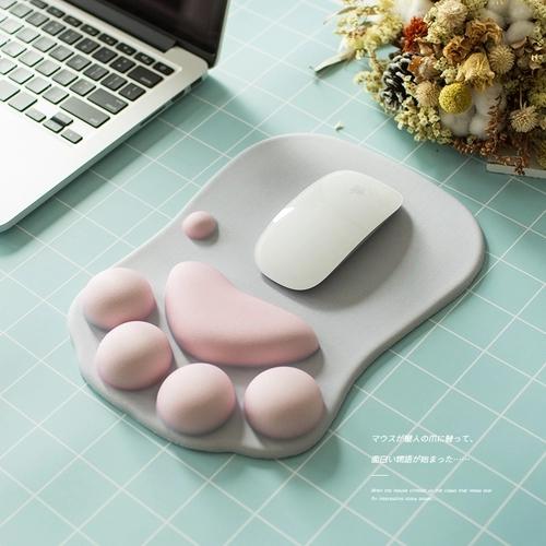 可爱猫爪鼠标垫