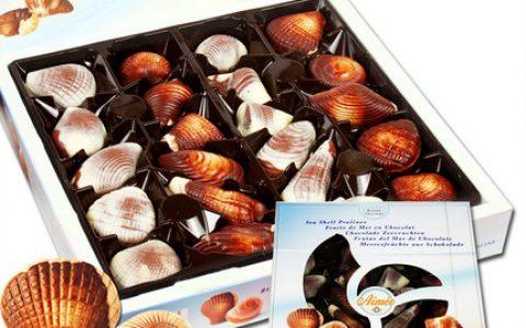 比利时GuyLian贝壳巧克力礼盒