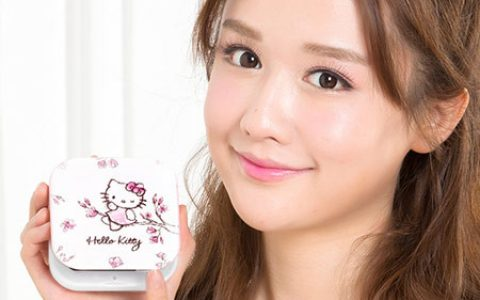 创意Hello Kitty 粉色化妆镜