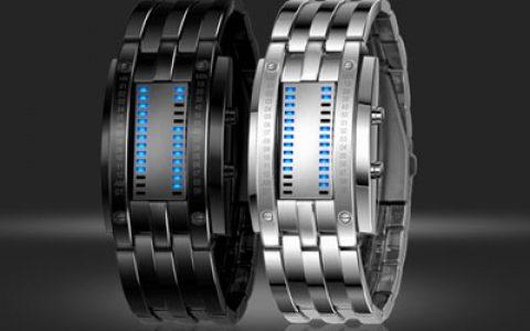 创意LED手腕手表 电子表