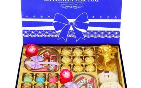 德芙巧克力玫瑰花礼盒