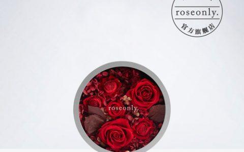 roseonly永生花进口玫瑰礼盒_星空礼物街