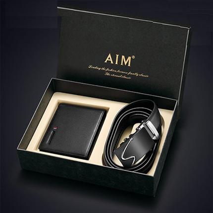 AIM男士钱包皮带礼盒