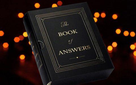 神奇的未卜先知答案之书
