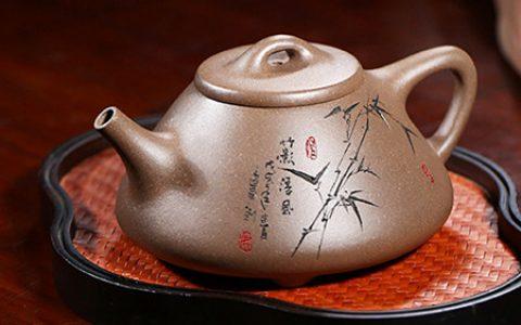 宜兴纯手工紫砂壶瓢壶