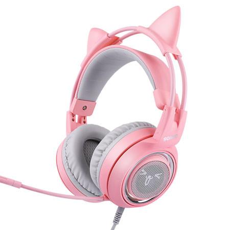 Somic/硕美科 可爱猫耳耳机