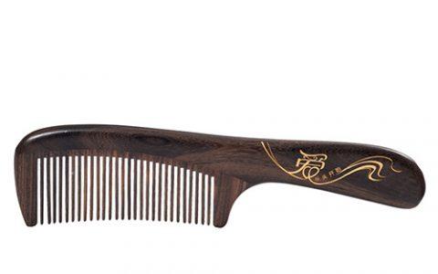 谭木匠漆艺天然木梳子
