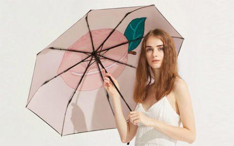 颜值满分蕉下果趣防晒伞,阻隔紫外线还能降温!_星空礼物街