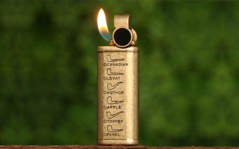 PROMISE铜充气打火机点烟斗